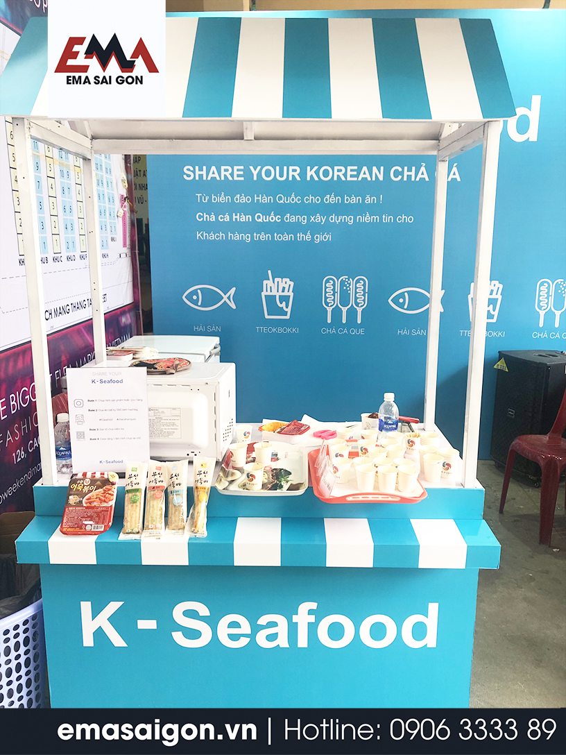 Tổ chức Activation K Fish - K Seafood