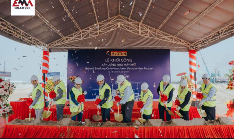 Lễ khởi công nhà máy Jotun Việt Nam
