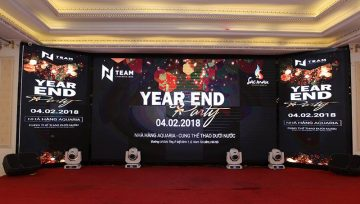 Kịch bản year end party đã cập nhật đến năm 2021