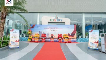 Hơn 600 khách hàng dự khai trương nhà mẫu căn hộ cao cấp LDG Sky
